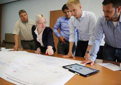 Digitale Schnittstelle für die Auftragsabwicklung in der Kartonagenproduktion